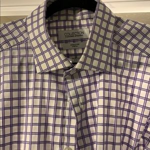 Men's Regular Fit 17 1/2 36-37 Dress Shirt